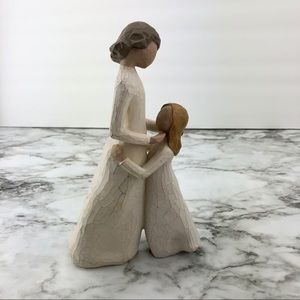 Willow Tree Mother and Daughter Sculpture
